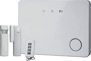 Smartwares IP Funk Alarmanlage Bewegungsmelder LED Fernbedienung Sirene 110 dB
