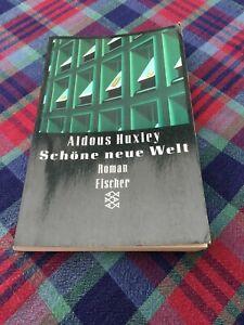 Schöne neue Welt von Aldous Huxley/Taschenbuch 1996/Fischer