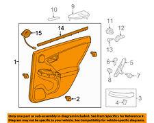 TOYOTA OEM 12-15 Prius-Door Interior Trim Panel Right 6763047451C1