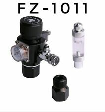 FZone CO2 Regulator With Solenoid And Bubble Counter And 12V DC Power Cable