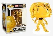 Marvel Studios 10th Anniversary - Black Widow Gold Chrome Pop! Vinyl Figure S