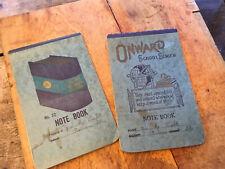 moprimitivepast antique 1920 30s onward school notebooks beautiful script German