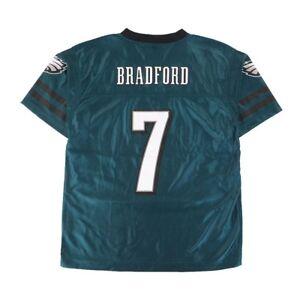 Sam Bradford NFL Philadelphia Eagles Teal Home Youth Replica Jersey SZ (S-XL)