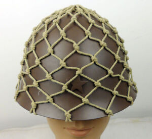 Replica WW2 JAPANESE IMPERIAL  ARMY HELMET COVER CAMOUFLAGE NET