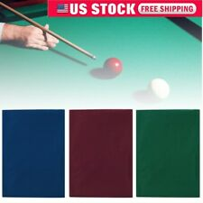 7ft 8ft Billiard Table Pool Table Cloth Felt Snooker Table Accessories US