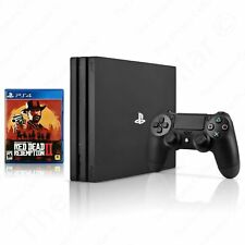 Sony PlayStation 4 Pro Console with Red Dead Redemption 2