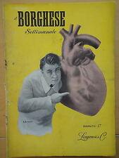 1954-IL BORGHESE-Direttore LEO LONGANESI-Anno V, Numero 17