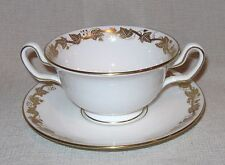 Wedgwood Whitehall Cream Soup Bowl and Saucer