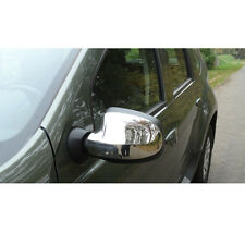2 COQUES RETRO RETROVISEURS CHROME DACIA SANDERO 2 10/2012-UP