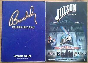 Individual/single Victoria Palace Theatre programmes 1990s, programme