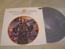 "CHRISTMAS with NANA MOUSKOURI KOREA VINYL LP 12"" 12TRACK 1982 pressing"