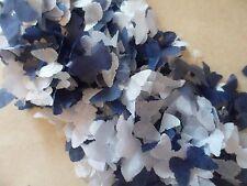 1 Pinta Di Tessuto Navy & Bianco Farfalla Coriandoli/Celebrazione/Decorazione