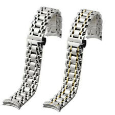 New 20mm Solid Stainless Steel Strap Bracelet Watch Strap Band For Longines