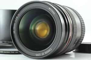 [NEAR MINT] Canon EF 24-70mm f/2.8 L USM Lens w/ EW-83F Lens Hood From JAPAN 068
