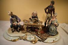 "Vintage CAPODIMONTE Porcelain L'eredita Figurine  ""The Legacy""  (1217)"