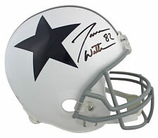 Cowboys Jason Witten Signed White Throwback Full Size Rep Helmet BAS Witnessed