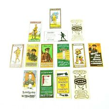 More details for cigarette cards soldier war military recruiting repros full set plus 2 extras