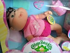 JAKKS PACIFIC CABBAGE PATCH DRINK AND WET DOLL