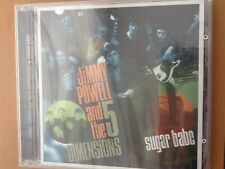 JIMMY. POWELL. And the Five Dimensions.    CD.     SUGAR. BABE.