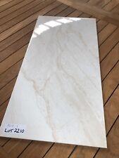 600 x 300 Glazed Ceramic Hi Gloss wall tiles Sandstone Look
