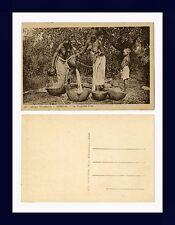AFRIQUE OCCIDENTALE FRANÇAISE SÉNÉGAL LA PROVISION D'EAU POSTCARD CIRCA 1920