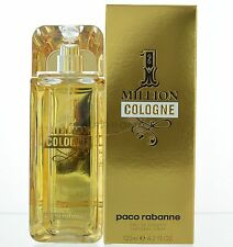 Paco Rabanne 1 ONE MILLION COLOGNE 4.2 oz 125 ml Men Cologne EDT Spray NIB