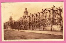 Dated 1919. New Royal Infirmary, Manchester.