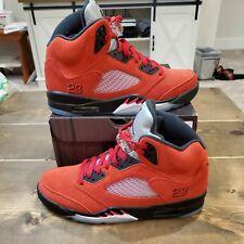 Nike Air Jordan 5 V Retro Raging Bull Toro Bravo Red 2021 Size 8.5 DD0587-600
