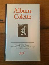 Colette - Album-  Pléiade -  N° 23 -  Comme neuf - 1984