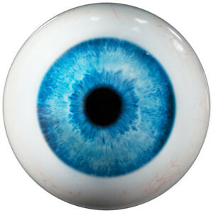 Bowling Ball On the Ball Blue Eyes with Motif Exclusive Eye Eyeball