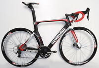 STRADALLI CARBON FIBER DISC BRAKE AERO ROAD BIKE BICYCLE SHIMANO ULTEGRA 8000