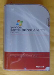Microsoft Windows Essential Business Server 2008 Premium,SKU 6ZA-00099,Full,BNIB