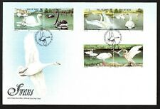 Isle of Man 1991 Swans First Day Cover