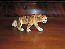 Royal Dux Bohemia Tiger Figur Porzellan ca 20 cm lang