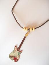 Collier avec Pendentif guitare fender stratocaster Jimi Hendrix