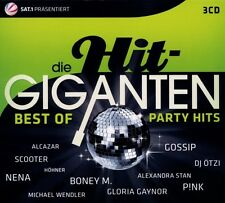 DIE HIT GIGANTEN-BEST OF PARTY 3 CD NEUWARE