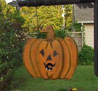 Primitive Halloween Pumpkin Jack O Lantern Birdhouse Arrow Hanger Replacement