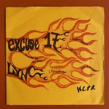 """LYNC/EXCUSE 17 Split 7"""" ~ (Youth On Fire) Punk/Indie"""