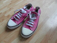 Converse All Star size 5.5 purple canvas lace up