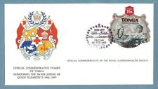 1977 TONGA SILVER JUBILEE ROYAL COMMONWEALTH SOCIETY FDC