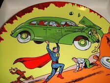 Superman 50th Birthday Action Comics #1 COLECCIONISTA Placa Firmado MIB !