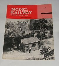 MODEL RAILWAY CONSTRUCTOR JULY 1964 - REMOTE CONTROL FOR TURNTABLES