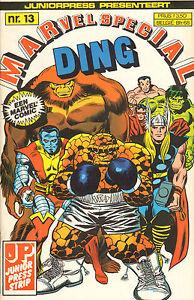 MARVEL SPECIAL 13  -  DING  (JUNIOR PRESS , 1983)