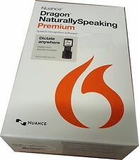 Nuance Dragon NaturallySpeaking v.13.0 Premium Mobile Edition K609A-GC3-13.0 NEW
