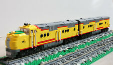 Custom Lego 1937 UP Union Pacific City of Los Angeles Passenger Train Set