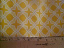 Fabric-Best Day Ever-Gold Geometric Stars on Yellow -- by Moda-Great Fabric