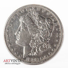 1893 Morgan One Dollar VAM-4 Silver Silber Münze USA Amerika Coin Liberty