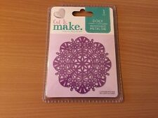 Cut And Make  Doily .I Piece Free Post