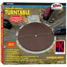 More details for atlas 305 manually operated railroad turntable ready assembled h0/00 gauge -t48p