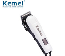 Kemei Rechargeable Electric Haircut Machine Professional LCD Display HairClipper